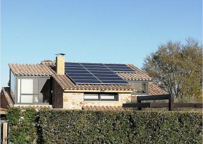 Instalación fotovoltaica Arenys d'Empordà