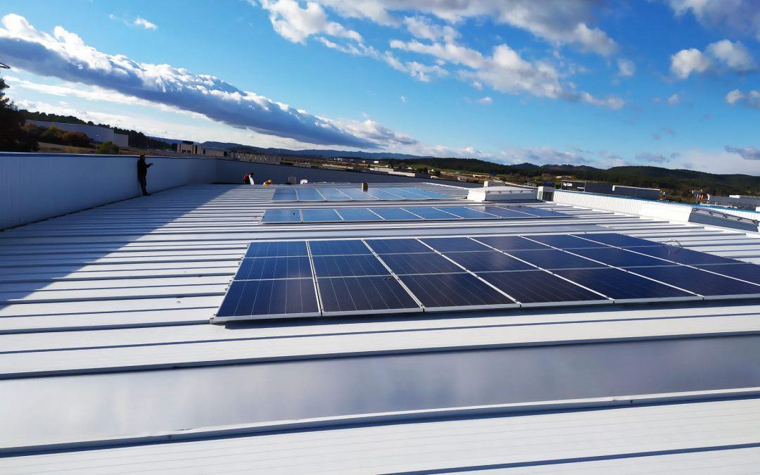 Autoconsumo solar industrial en Sallent