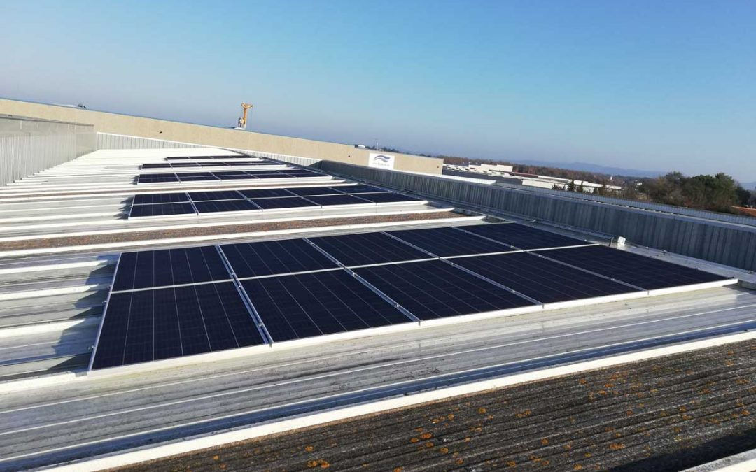 Autoconsumo solar industrial en Castellbisbal
