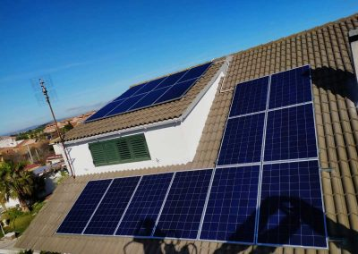 Autoconsumo solar vivienda en Rubí
