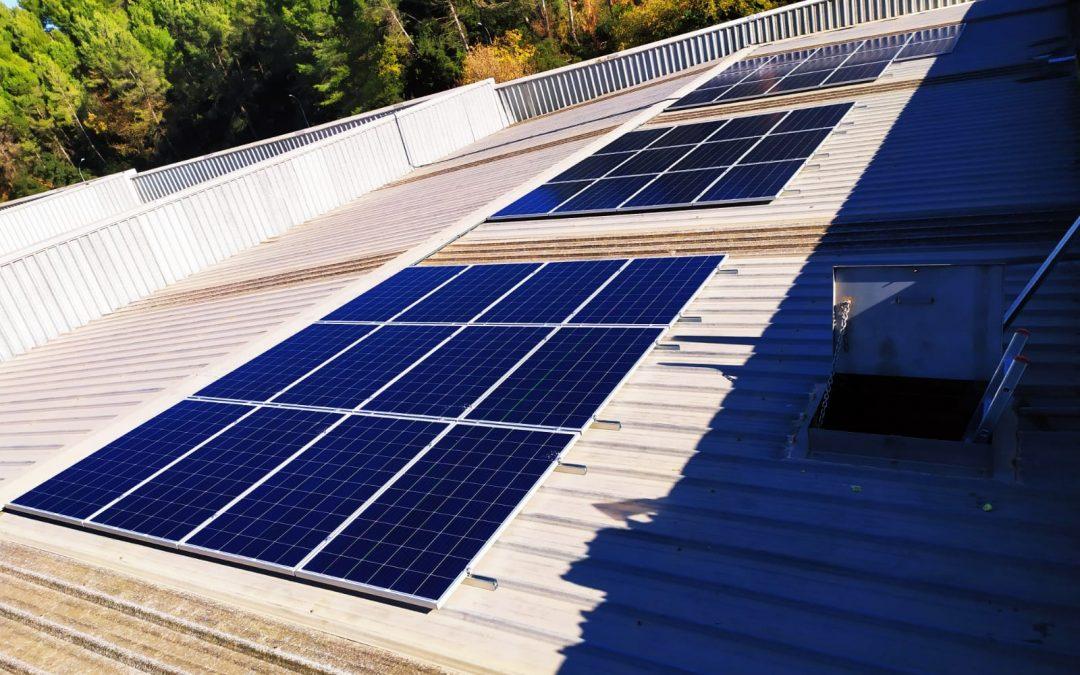 Autoconsumo solar industrial en Campllong