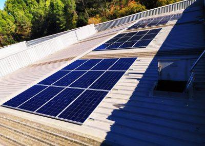 Autoconsum solar industrial a Campllong