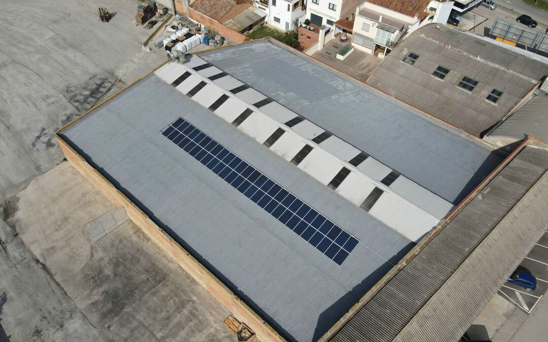 Autoconsumo solar industrial en Vic