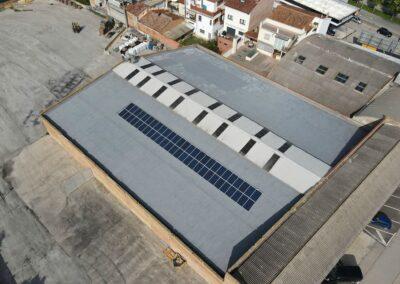 Autoconsumo solar industrial a Vic