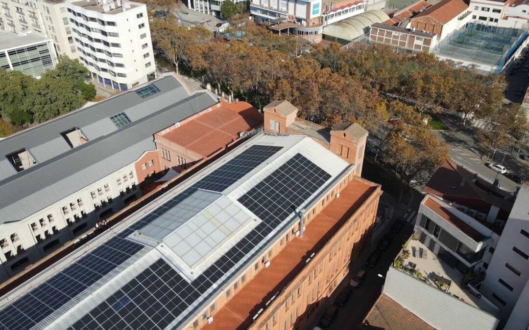 Autoconsumo solar industrial en Sabadell