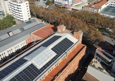 Autoconsum solar industrial a Sabadell