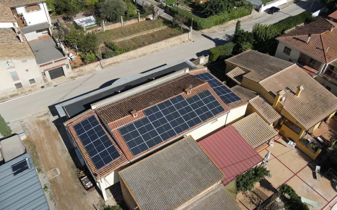 Autoconsumo solar industrial en Ordis