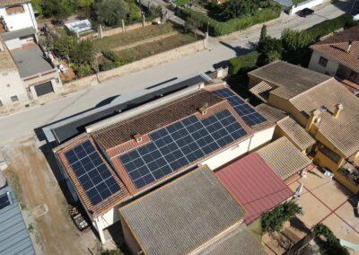 Autoconsum solar industrial a Ordis